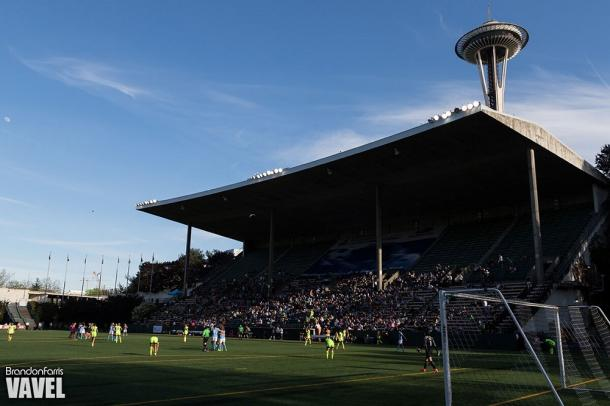 Memorial Stadium will host only one NWSL Game of the Week in 2017 | Source: Brandon Farris - VAVEL USA