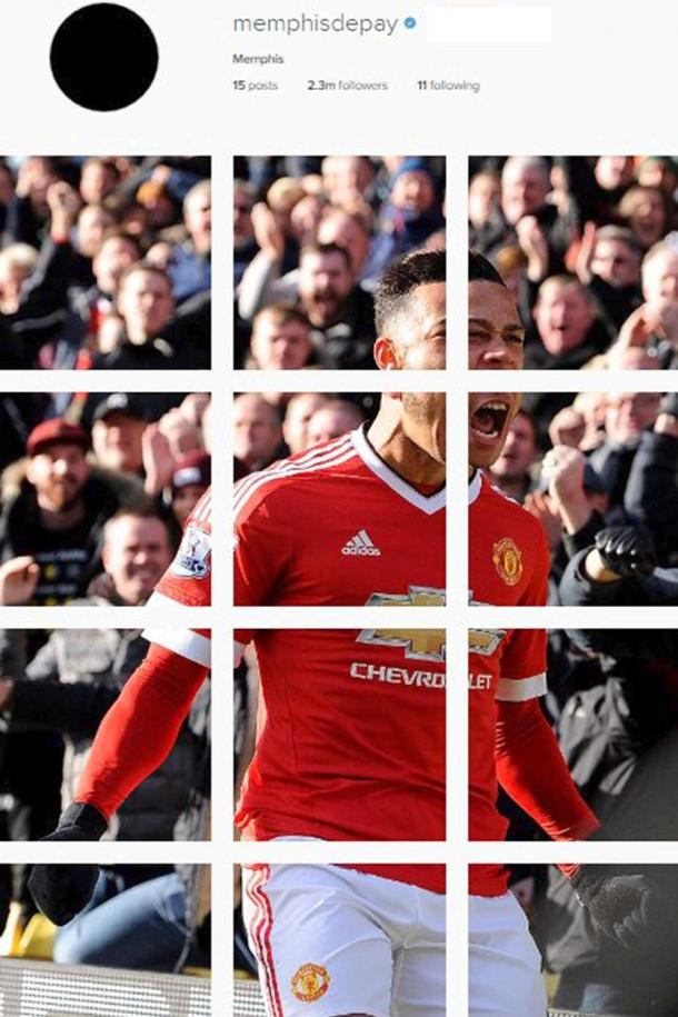 Collague created by Memphis on his Instagram account | Photo: The Sun