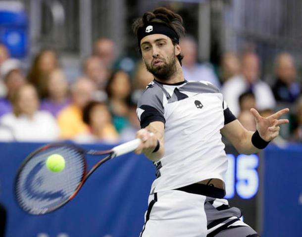 Basilashvili wasted 12 break chances in the match/Photo: Mark Humphrey/Associated Press
