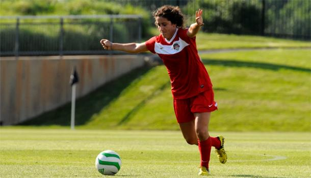Molly Menchel during her time with the Spirit | photo courtesy of washingtonspirit.com