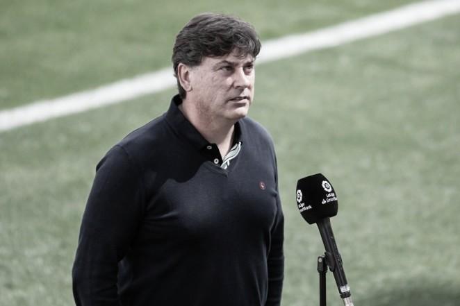 Alejandro Menéndez, entrenador del Albacete BP. / Foto: Albacete BP.