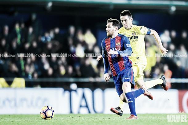 Leo Messi ante el Villarreal   Foto: VAVEL
