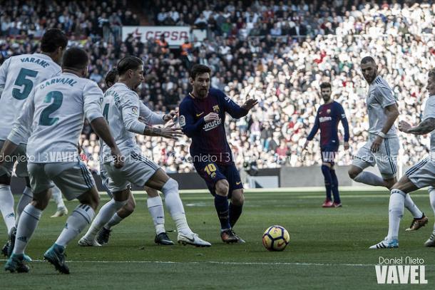 Messi volvió a sorprender al Bernabéu | Foto: Daniel Nieto - VAVEL