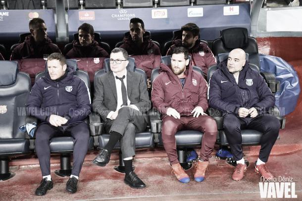 Messi, suplente en Mendizorroza | Foto: Noelia Déniz - VAVEL
