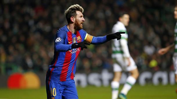 El capitán del Barcelona, Leo Messi, fue el autor de los dos goles   Foto: FCB