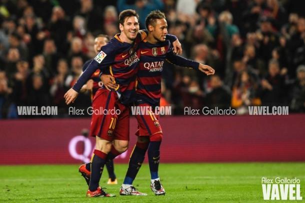 Messi y Neymar, una 'dupla' inigualable | Foto: Alex Gallardo - VAVEL