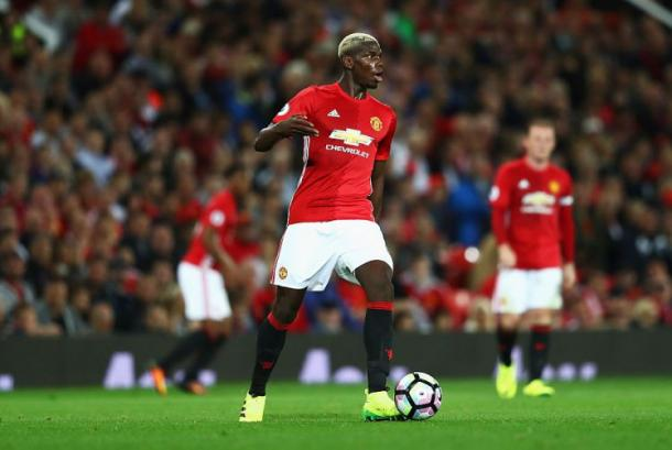 Pogba in action for Manchester United. | Image source: Metro