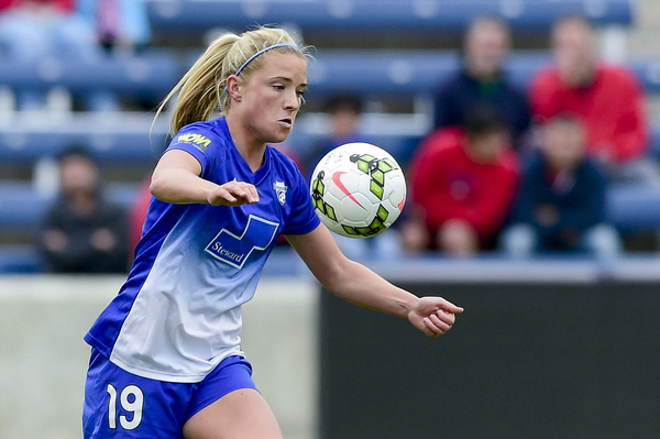 Mewis spent the majority of her NWSL career with Boston   Photo: Robin Alam - ISI Photos