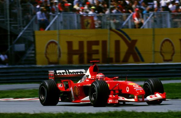 Michael Schumacher detém todos os principais recordes no GP canadense (Foto: Clive Mason/Getty Images)