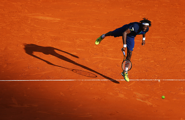 Monfils will need to serve well against Tsonga (Getty/Michael Steele)