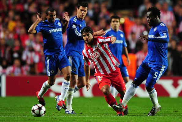 kun Aguero contra el Chelsea. Foto: Zimbio.com