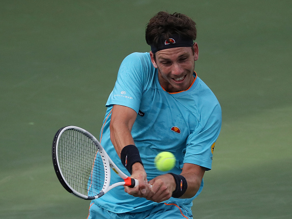 Cameron Norrie at the Atlanta Open last week (Photo: Kevin C. Cox/Getty Images)