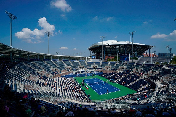 Grandstand played host to Cabal/Farah/Dodig-Granollers (Photo: Kena Betancur/Getty Images)