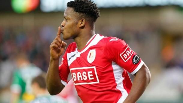 Batshuayi first rose to prominence with Standard Liege | photo: carrapide.com