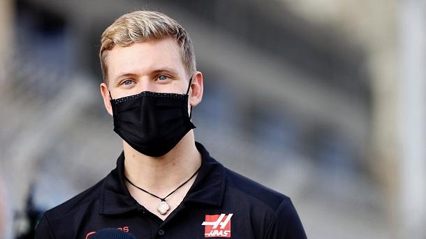 Mick Schumacher esta mañana en el circuito de Baréin. Fuente: Haas
