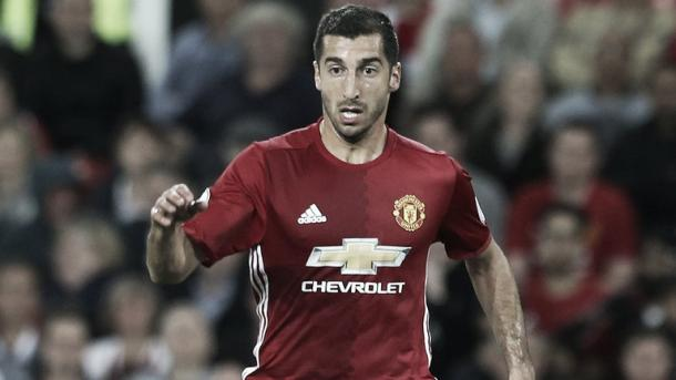 Mkhitaryan put on an impressive display against Hull City. Photo: Sky Sports