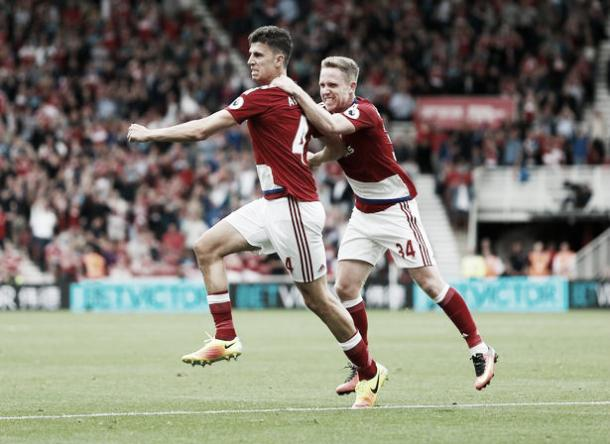 Daniel Ayala scored his first Premier League goal on Saturday | Photo: Reuters