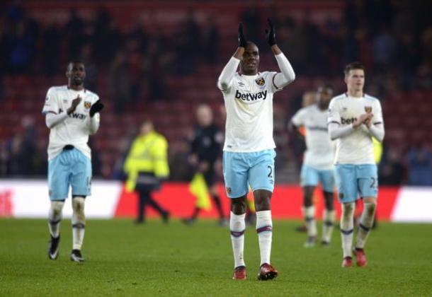 Ogbonna tras la victoria ante el Middlesbrough. Foto: West Ham
