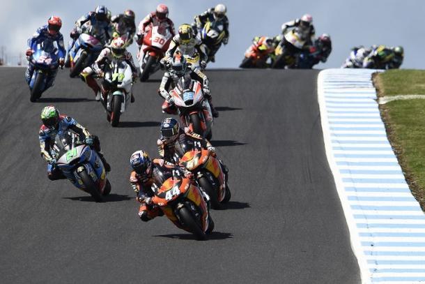 El mundial de Moto2 en Australia 2017. Foto: zimbio.com