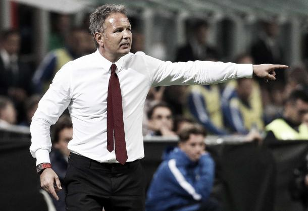 Mihajlovic set for his debut against his former team Milan. | Image source: Gazetta