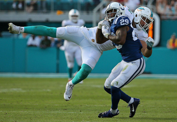Indianapolis Colts safety Mike Adams will have his hands full in the secondary against the Denver Broncos receiving corps during week two's matchup.  Photo:  Getty Images