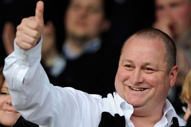 Mike Ashley gives Benitez full control of club (Photo: GettyImages)