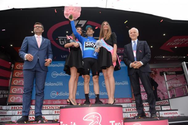 Nieve fue el rey de la montaña en el Giro de Italia 2016 | Foto: Giro de Italia