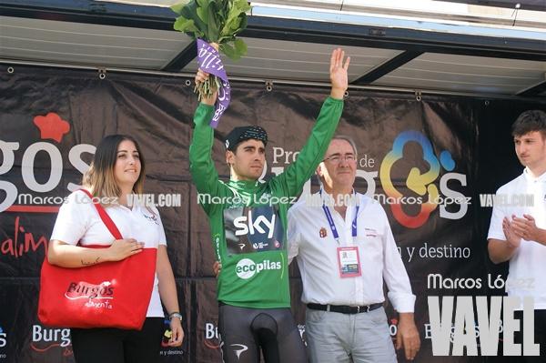 Mikel Landa ganó el maillot verde de la regularidad. | Foto: VAVEL