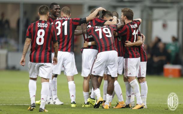 Il Milan può festeggiare, acmilan.com
