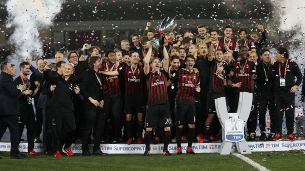 Foto: Milan.it / Supercoppa de Italia de 2016