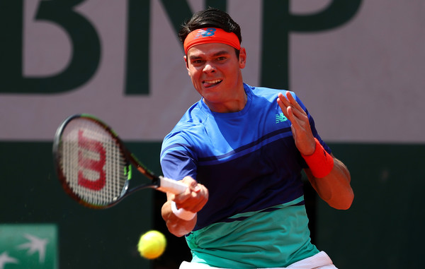 Raonic's forehand proved a reliable weapon all afternoon (Photo: Julian Finney/Getty Images Europe)