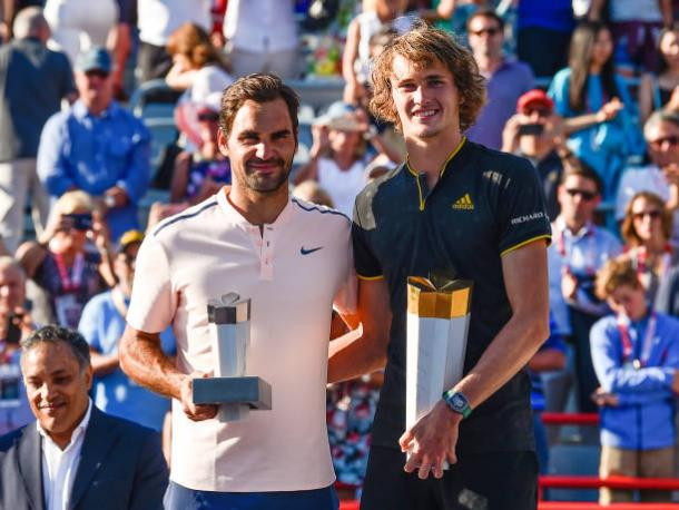 Federer lost to Alexander Zverev in the Rogers Cup final (Getty/Minas Panagiotakis)