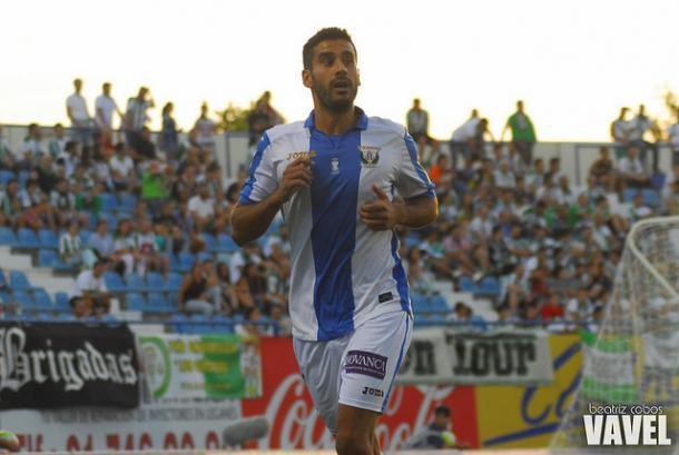 Jorge Miramón, jugador del Leganés. | Foto: Beatriz Cobos (VAVEL)
