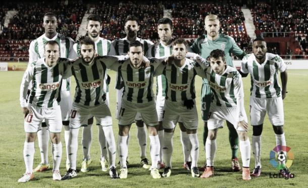 Último once del Córdoba ante el Mirandés | Fuente: LaLiga