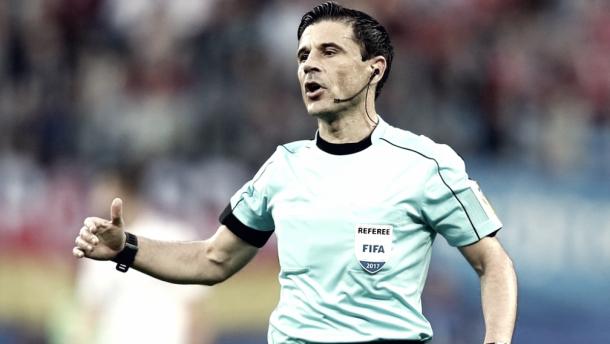 Mirolad Maziç durante un partido | Foto: UEFA.com