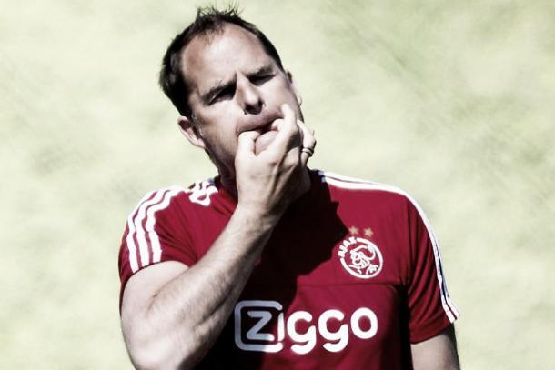 Frank Do Boer at Ajax. (Mirror)