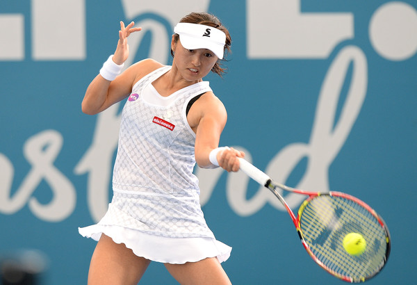 Misaki Doi defeated Ekaterina Makarova in her first match of 2017 | Photo: Bradley Kanaris/Getty Images AsiaPac