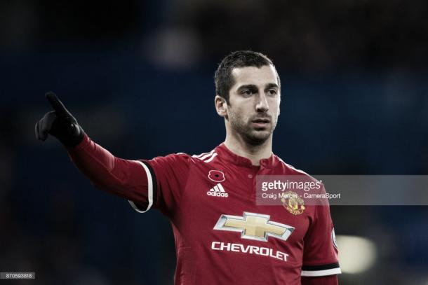 Mkhitaryan is out of form for United (Photo: Craig Mercer / CameraSport / Getty Images)