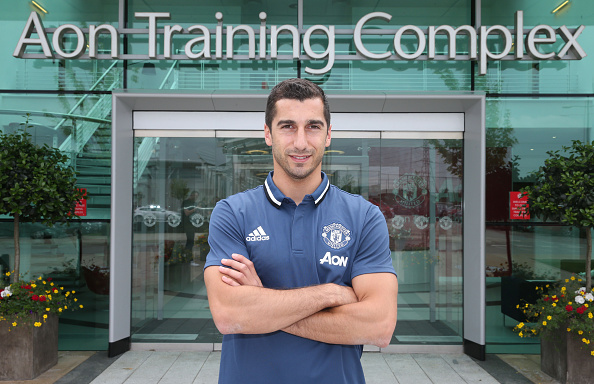 Mkhitaryan will begin pre-season with United immediately | Photo: John Peters/Manchester United