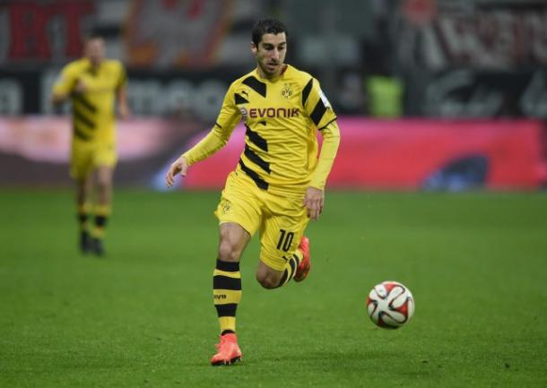 Mkhitaryan continues his form with yet another goal. Image credit - Getty Images