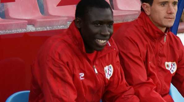 Diame at Rayo Vallecano (Photo: hat-trick.fr)
