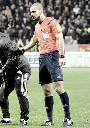 Mohammed Al-Hakim será el árbitro del partido./ Foto: Wikipedia