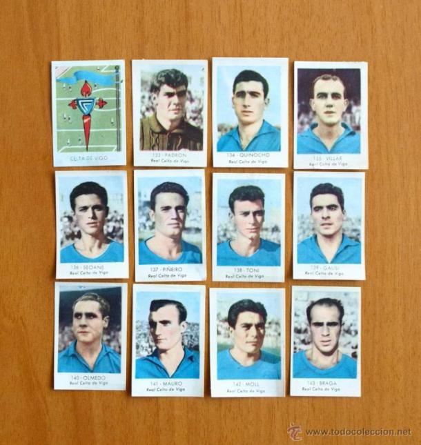 Un once de la temporada 1957/58 (Foto: todocoleccion.net)