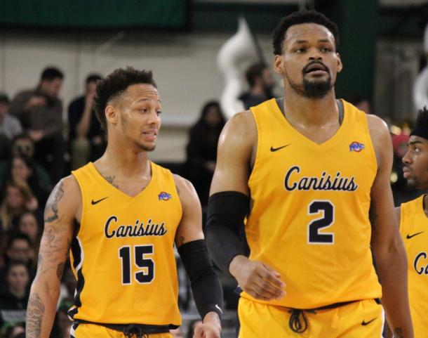 Reese (l.) and Crumpton (r.) give Canisius a lethal one-two punch/Photo: MyFantasySportsTalk website