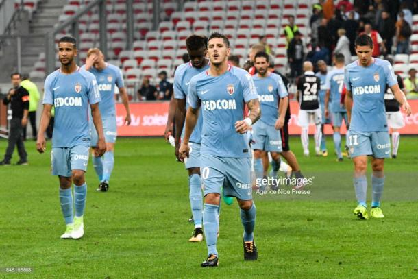 AS Monaco lost their first league game of the season last weekend. Source   Getty Images.