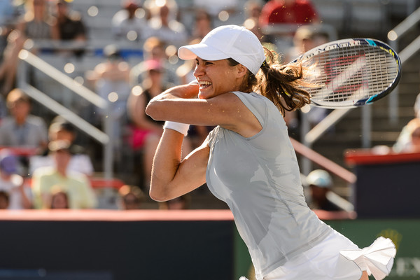 Monica Niculescu in Rogers Cup 2016 action. Photo: Minas Panagiotakis/Getty Images