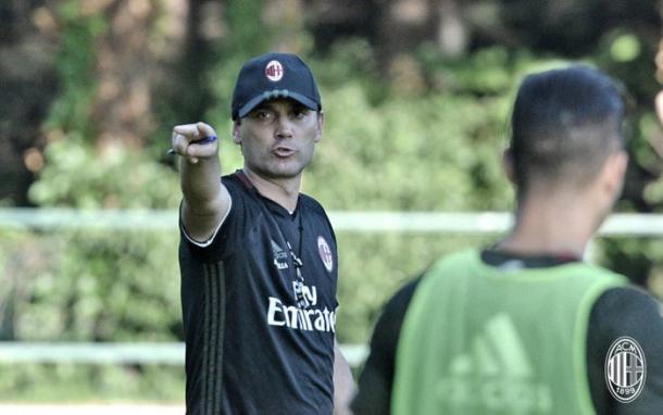 Vincenzo Montella a Milanello, vavel.com