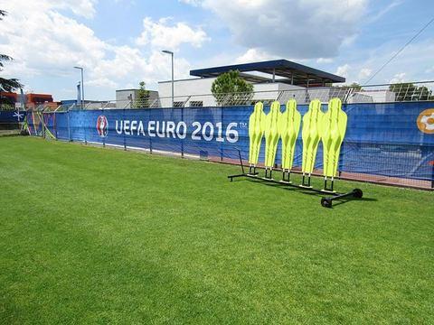 Il campo di allenamento dell'Italia a Montpellier, foto.ilmessaggero.it
