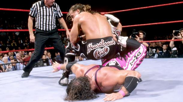 One of the most talked about moments in wrestling history. Photo- cagesideseats