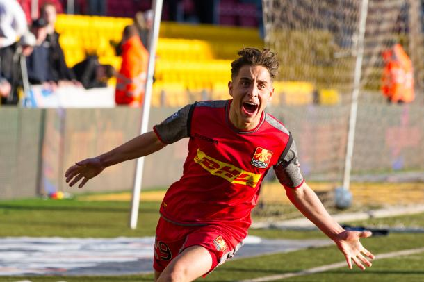 Emre Mor has been names in the 23-man squad and is some talent (Photo: Getty Images)